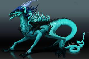 Fancy dragon by IroPagis