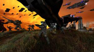 UNSC Marines by Amalgamation100