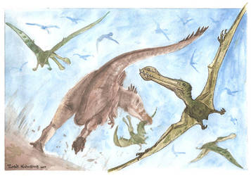 Age of Flying Reptiles 4 by tuomaskoivurinne