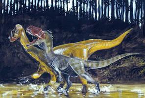 Jurassic Xinjiang by tuomaskoivurinne