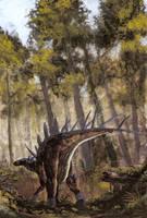 Kentrosaurus aethiopicus by tuomaskoivurinne