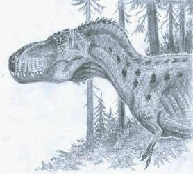 Daspletosaurus torosus by tuomaskoivurinne