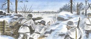Winter War in the Frontline 9 by tuomaskoivurinne