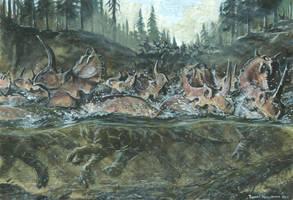 Horns06: Centrosaurus by tuomaskoivurinne