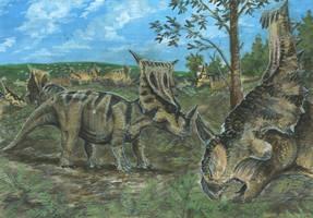 Horns09: Vagaceratops by tuomaskoivurinne