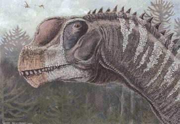 Camarasaurus lentus by tuomaskoivurinne