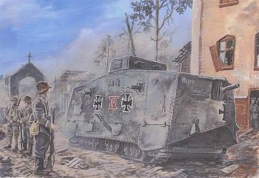 Sturmpanzerwagen by tuomaskoivurinne