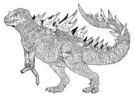 Kaiju: Gojira by tuomaskoivurinne