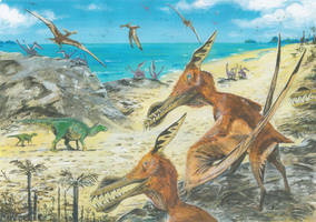 Cretaceous Isle of Wight re-do by tuomaskoivurinne