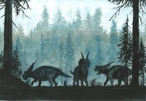 Horns22: Achelousaurus by tuomaskoivurinne