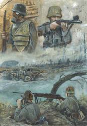 Western Front 1918 by tuomaskoivurinne