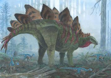 Stegosaurus stenops by tuomaskoivurinne