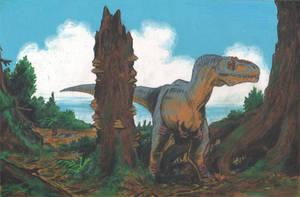Daspletosaurus by tuomaskoivurinne