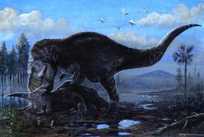 Tyrannosaurus rex by tuomaskoivurinne
