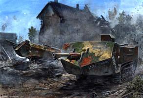 Saint-Chamond - Matz 1918 by tuomaskoivurinne