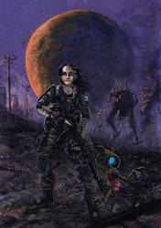 Kevyt Metalli, issue 2-18 cover art by tuomaskoivurinne
