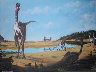 Cretaceous Gobi by tuomaskoivurinne