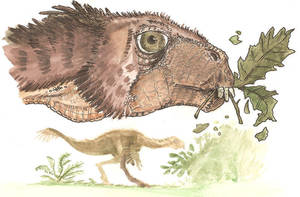 Oviraptorosauria Menu 1 by tuomaskoivurinne
