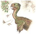 Oviraptorosauria Menu 2 by tuomaskoivurinne