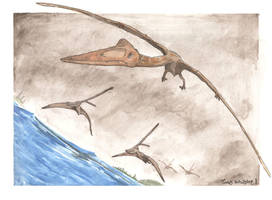 Age of Flying Reptiles 3 by tuomaskoivurinne