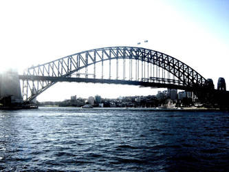 Sydney Harbour Bridge by extramaster