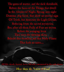 Aleister Crowley - Ars Congressus Cum Daemon by MSOwolf
