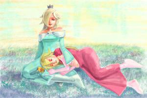 Sleeping by Sachiyo-i