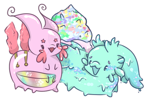 Pastel Pals | Gift by Pink-Android