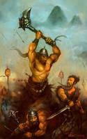 Bandits Attack by MrDream