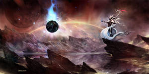 The Dark Orb by MrDream