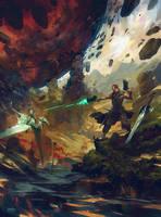 Beneath The Vortex by MrDream