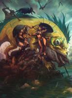 Swamp Raid by MrDream