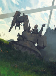 No Tanks by MrDream