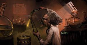 Scientist by MrDream