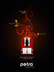 Petra Coffee Machine Ad by Neochron