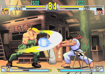3rd Strike, NOW!! by RoughYo