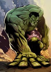 Hulk by RoughYo