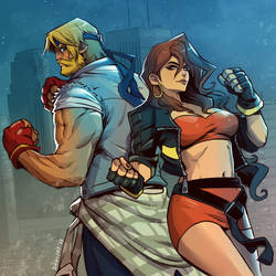 Streets of Rage 4 Fanart by RoughYo