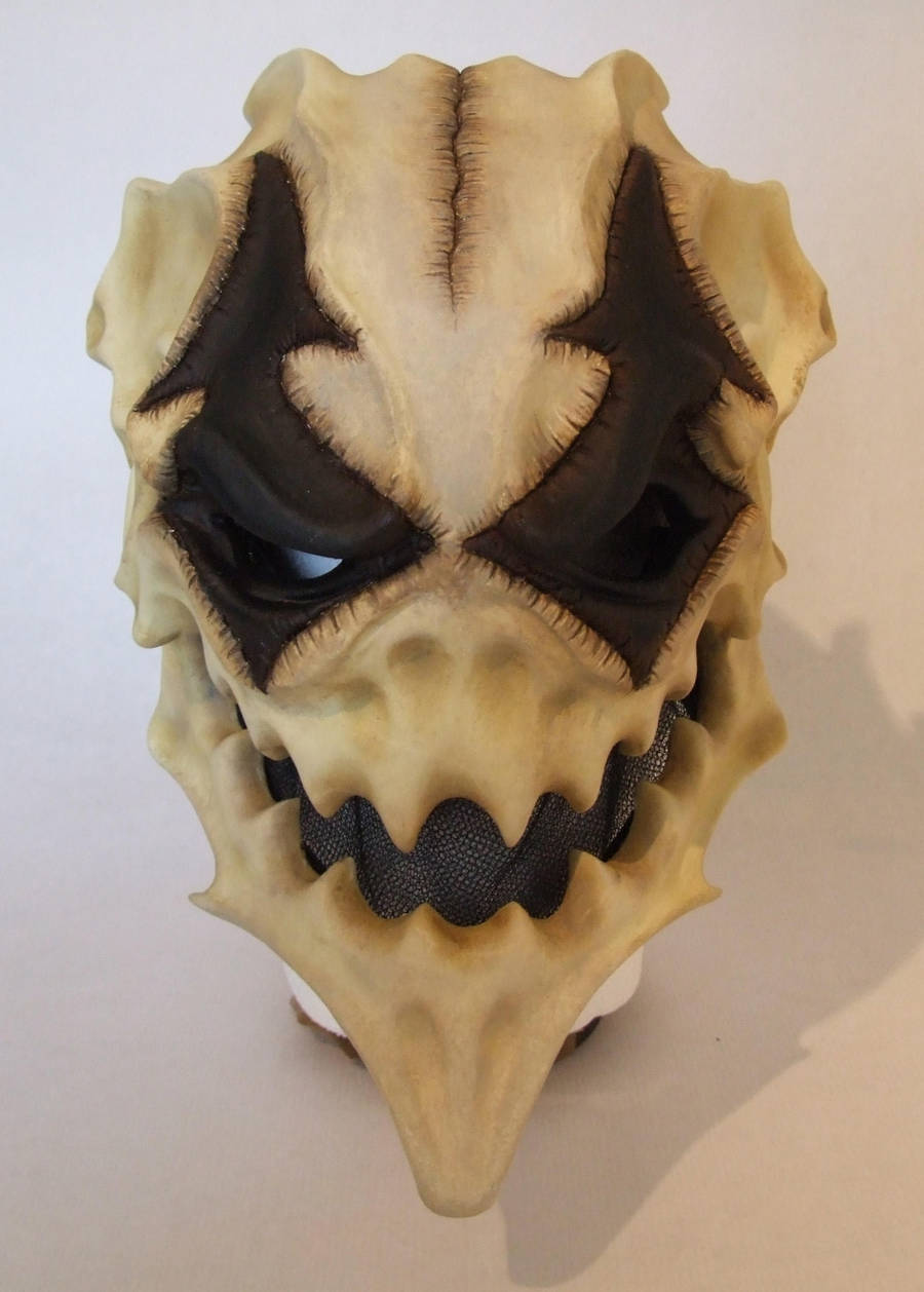Harlequin mask by Bakenekoya