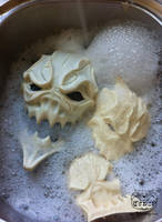 Mask making part 18 by Bakenekoya