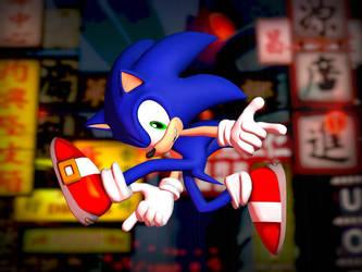 Sonic SA1 Pose by Ultimote