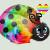 Rainbow Ladybug by cutecolorful