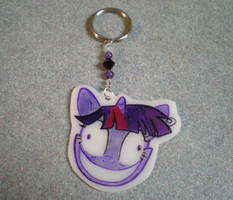 MLP Handmade Creepy Twilight Keychain by AmyAnnie14
