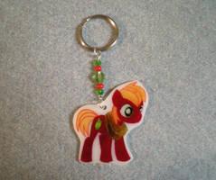 MLP Big Macintosh Colt Keychain by AmyAnnie14