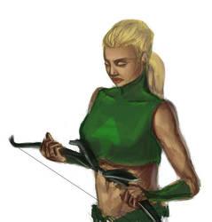 Artemis by jurodo