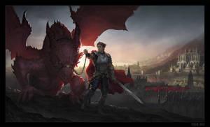Dragon Knight by sourgasm