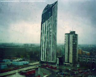 Elephant and Castle by Konstantinekein