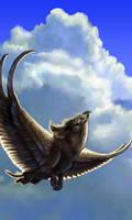 Nambroth Flying by maggock