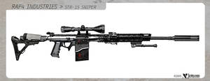 RAP4 STR-15 Sniper by wiledog