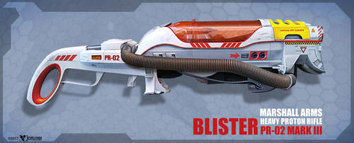 Blister PR-02 Proton Rifle by wiledog
